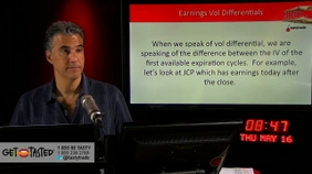 Earnings Vol differentials