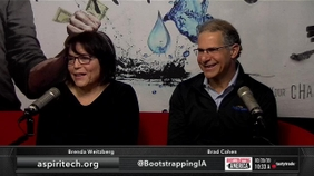 Brenda Weitzberg and Brad Cohen of Aspiritech