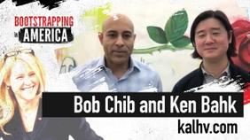 Bob Chib And Ken Bahk of Kaleidoscope Health Ventures