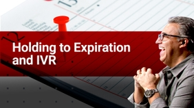 Holding to Expiration and IVR