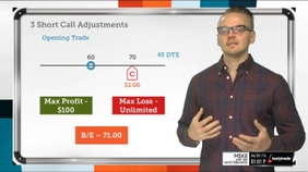 3 Short Call Adjustments