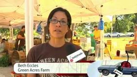 Vonetta at the Green City Farmer's Market