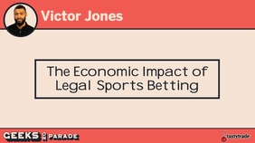 Legal Sports Betting with Victor | Geeks 2019