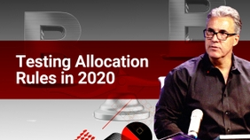 Testing Allocation Rules in 2020