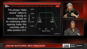Delta Hedging: When and How to Take Action