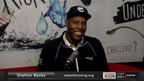 Shelton Banks of re:work training