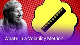 What's in a Volatility Metric