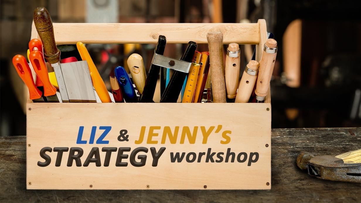 Liz & Jenny Strategy Workshop hero image