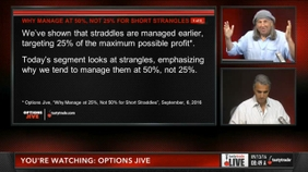 Why Manage at 50%, Not 25% for Short Strangles