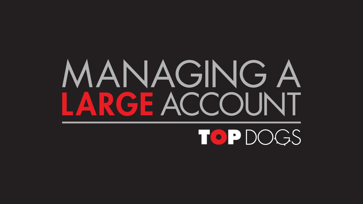 Top Dogs: Managing a Large Account hero image