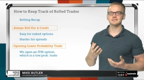 How To Keep Track Of Rolled Trades