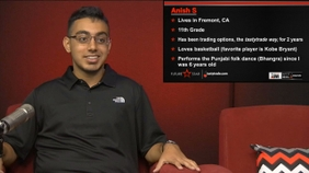 Meet Anish, Our Future Star!