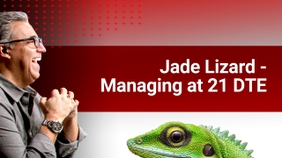 Jade Lizard: Managing at 21 DTE