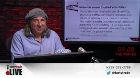 Historical versus Implied Volatilities