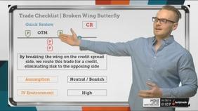 Trade Checklist | Broken Wing Butterfly