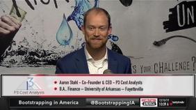 Aaron Stahl of P3 Cost Analysts
