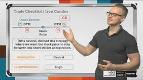 Trade Checklist   Iron Condor