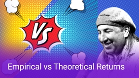 Empirical vs Theoretical Returns