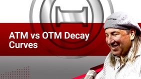 ATM vs OTM Decay Curves