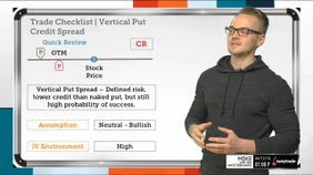 Trade Checklist | Vertical Put Credit Spread