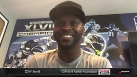 Cliff Avril of the Cliff Avril Family Foundation