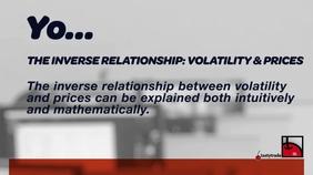 Price & Volatility's Relationship