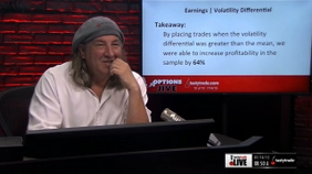 Earnings | Volatility Differential