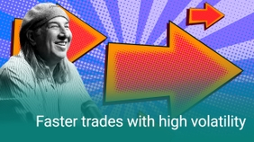 Faster Trades with High Volatility