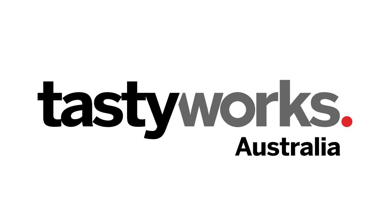 Logo for tastyworks Australia, a brokerage firm