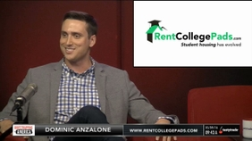 Dominic Anzalone of Rent College Pads