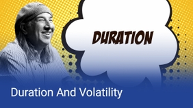 Duration And Volatility