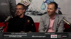Chef Christian Fantoni and Stefano Casati of Casati's