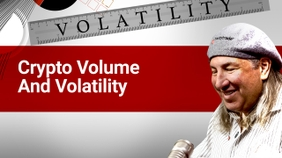Crypto Volume and Volatility
