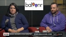 Amanda Greenberg & Noah Bornstein of Baloonr