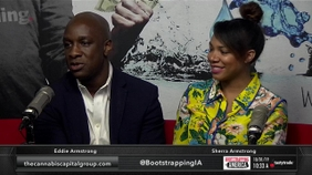 Eddie and Sherra Armstrong of Cannabis Capital Group