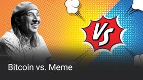 Bitcoin vs Meme