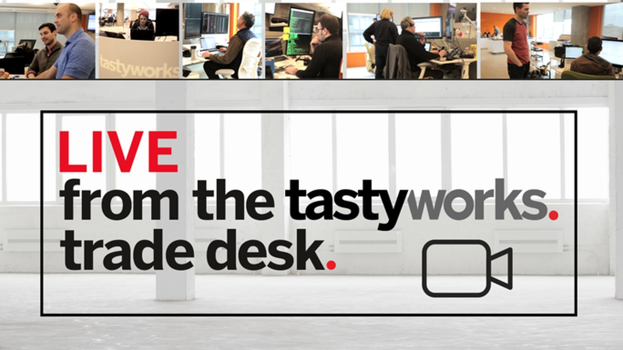 Live From the tastyworks Trade Desk hero image