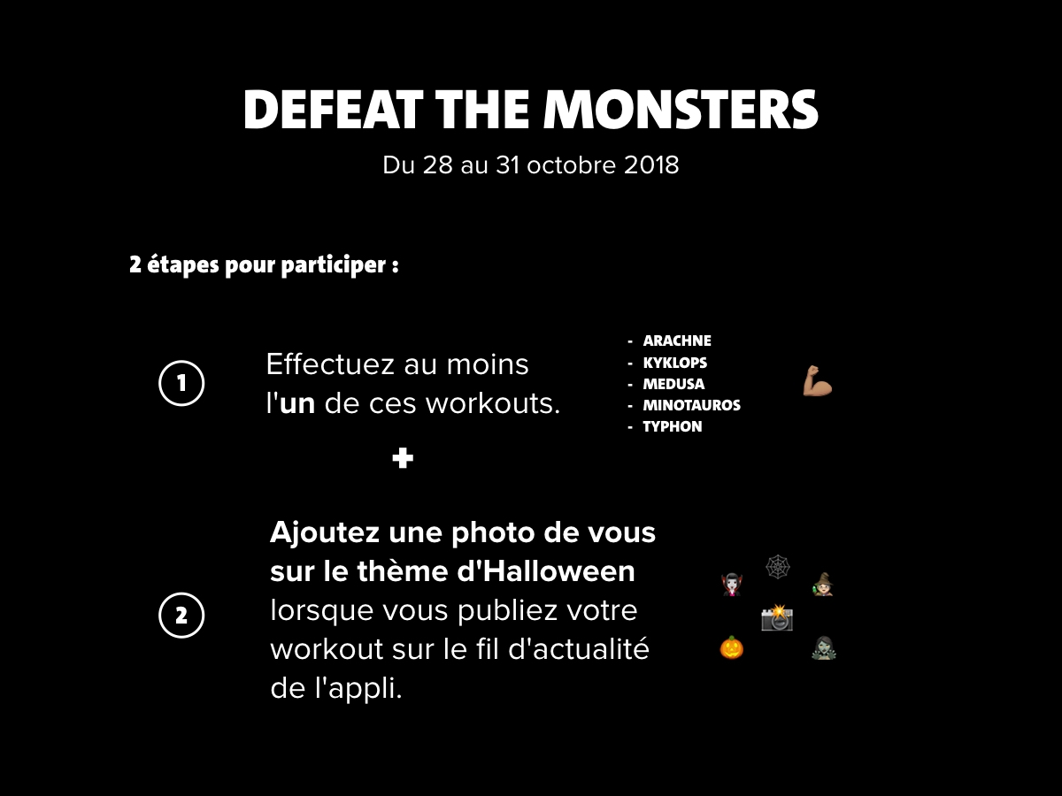 defeat the monsters FR