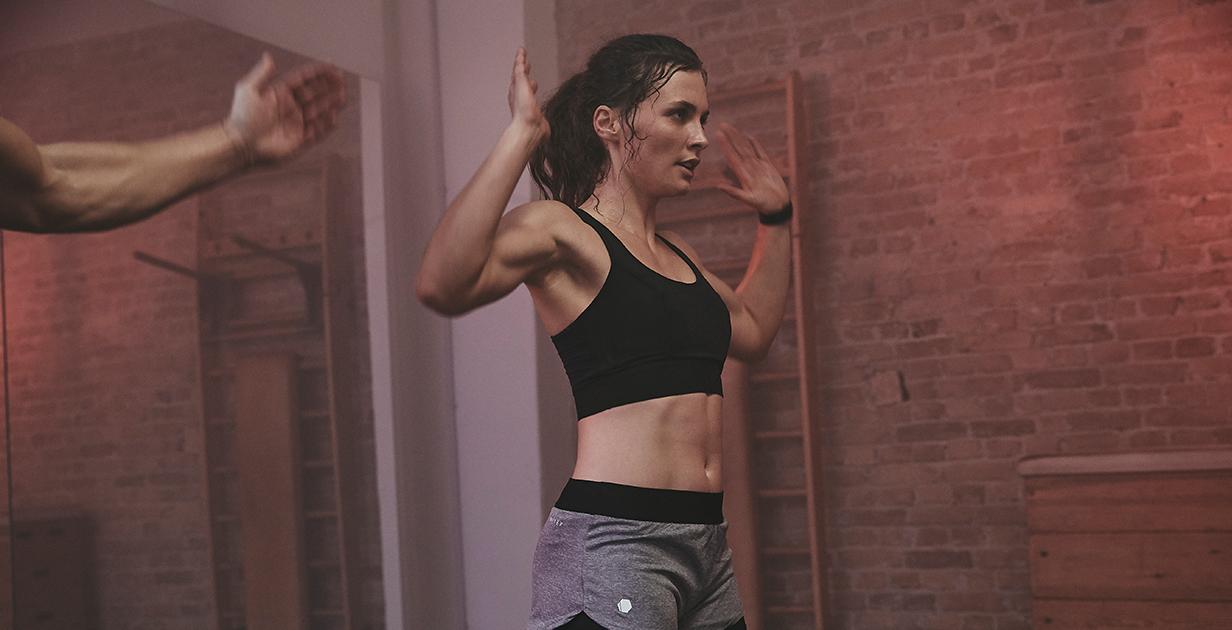Treibe Sport um dein Gewicht zu halten