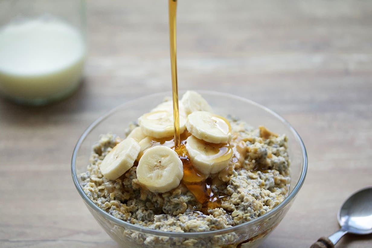 peanutbutter overnight oats