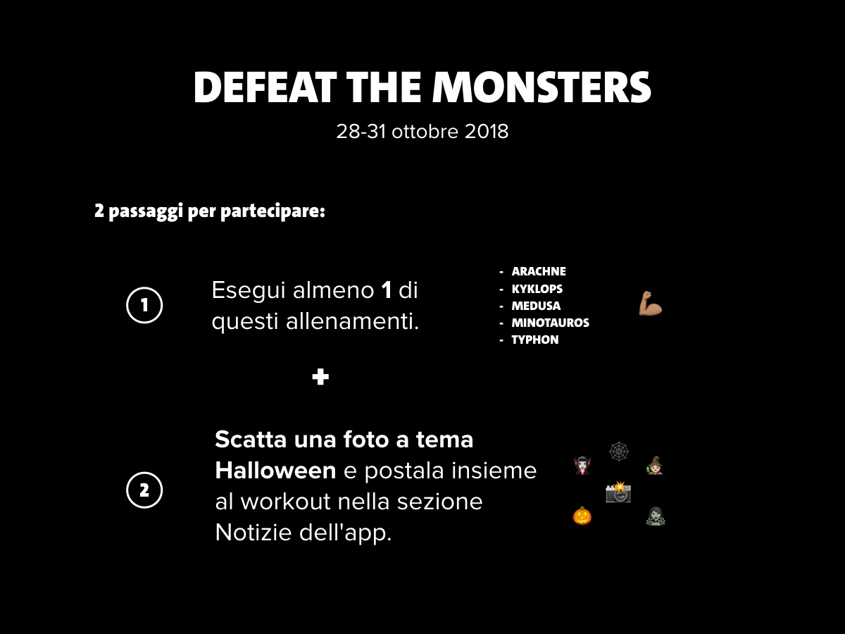 defeat the monsters IT
