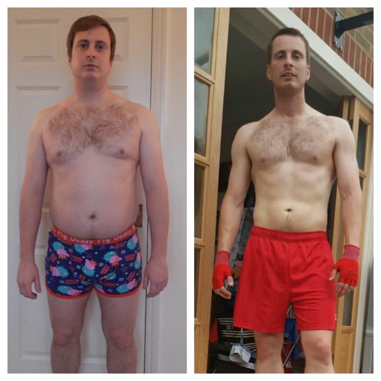 Stephen's Freeletics transformation story.