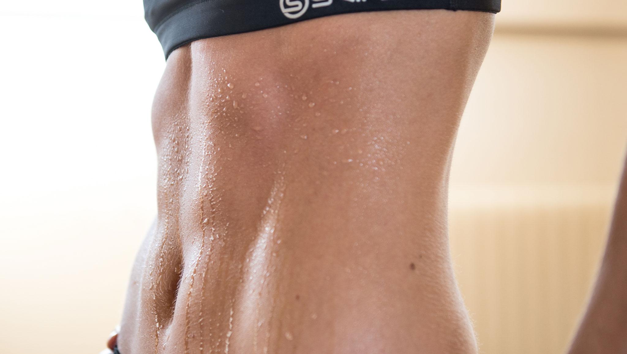 alto nivel de grasa muscular alto