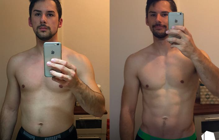 Andreas Kueselich before & after