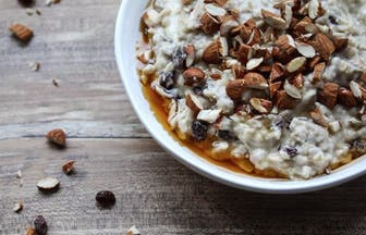 vegan coconut porridge