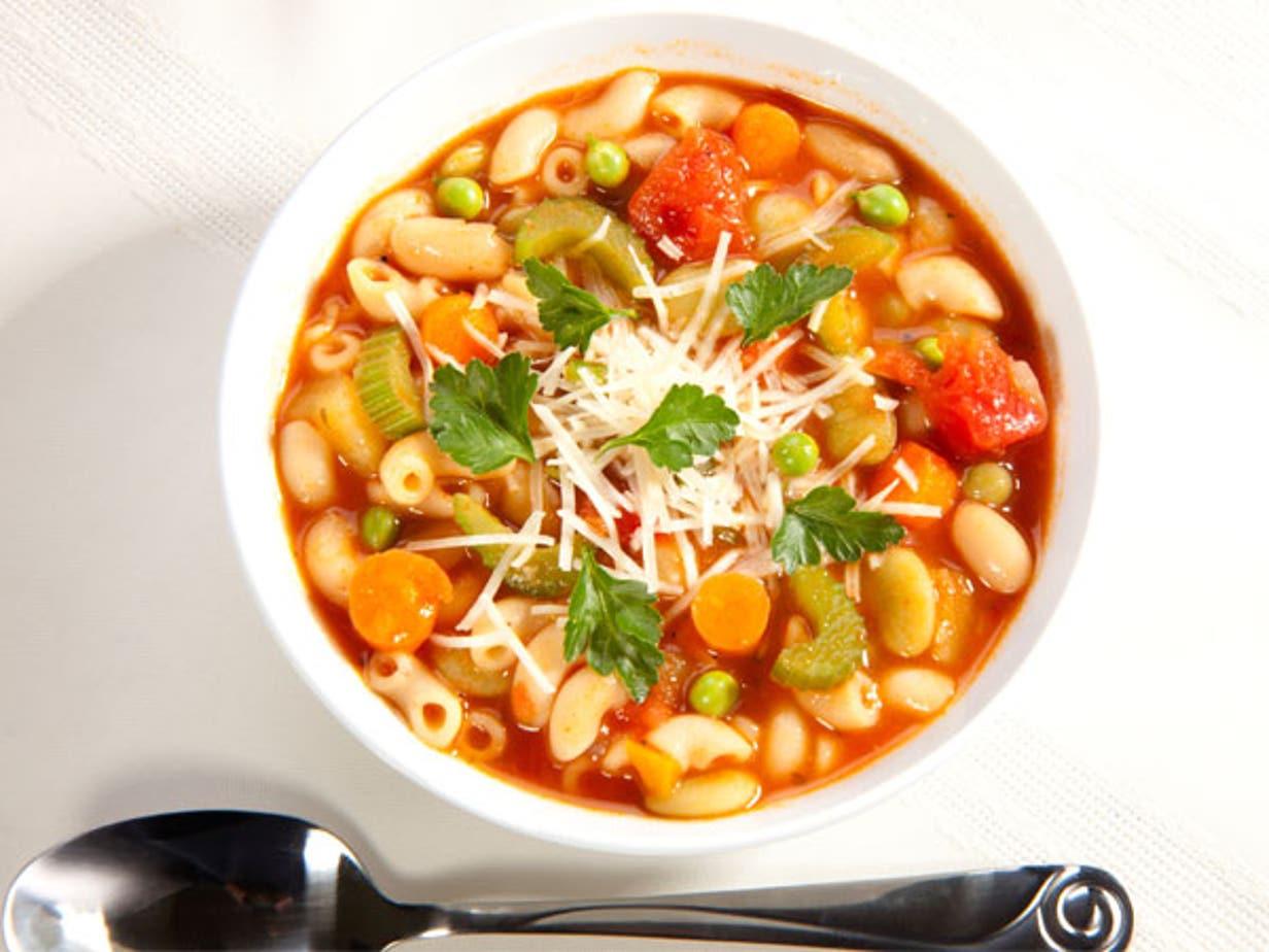 la soupe minestrone