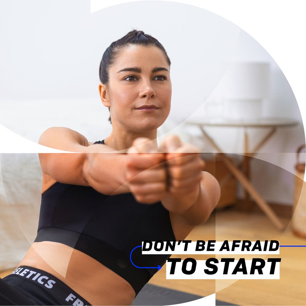Don't be afraid to start
