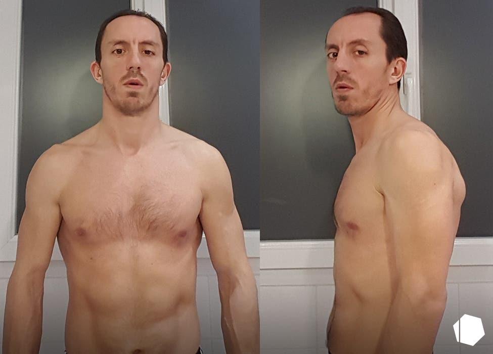 Stephane Glapski before & after