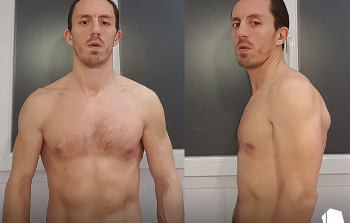 Stephane Glapski before & after