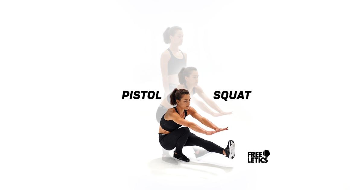 Freeletics Exercises: Pistol Squats